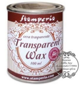 "Воск - полироль нейтральный (прозрачный) ""Transparent wax""125 мл"